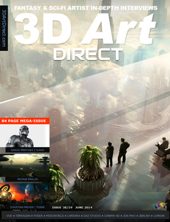 3d Art Direct Feature & Interview