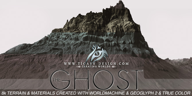 The Ghost 8k Mountain Heightfield Package
